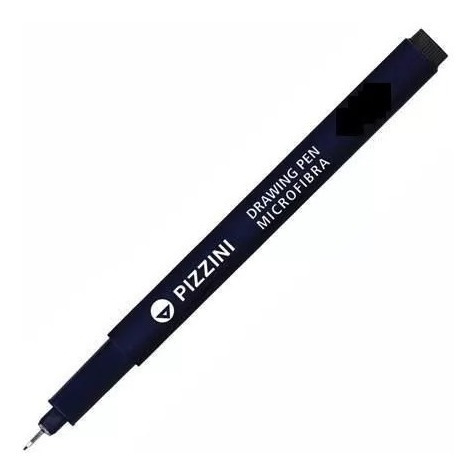 estilografo pizzini 0.8,0.7, graduado drawing pen microfibra
