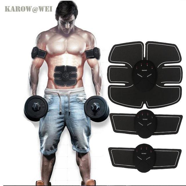 Estimulador Muscular Abdomen Brazo Ems Entrenador Corporal ...