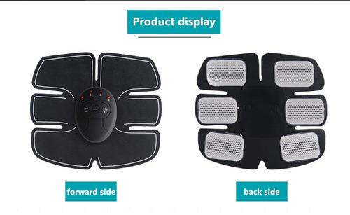 estimulador muscular ems aparelho abdominal pronta entrega
