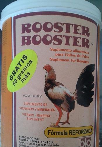 estimulante general vitamina rooster booster gallos aves