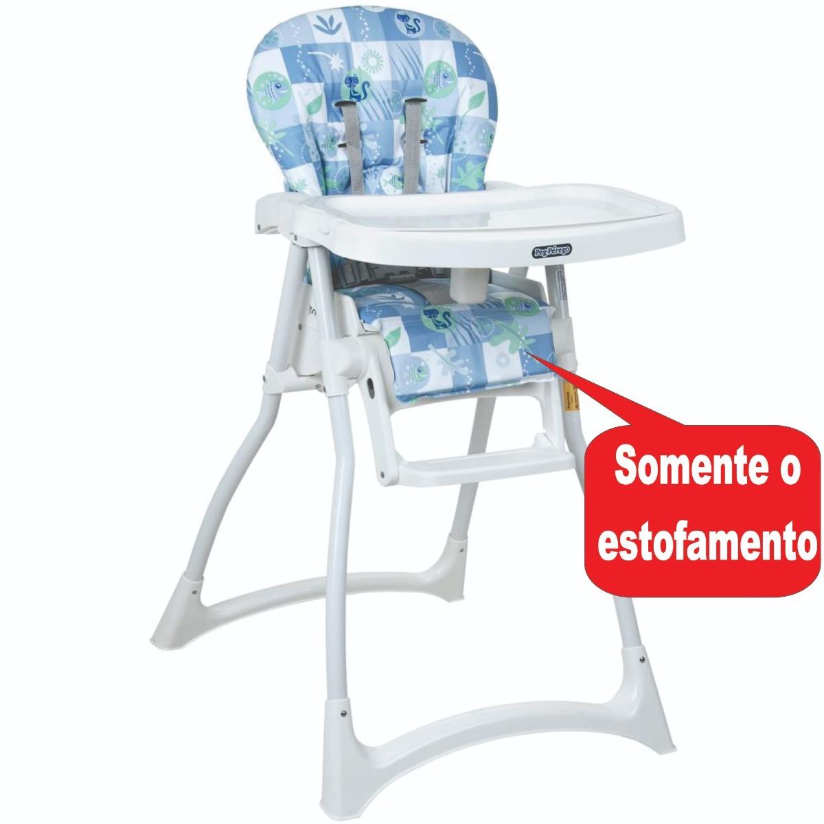 6a14a84308a1 estofado para cadeira merenda peixinho azul - burigotto. Carregando zoom.