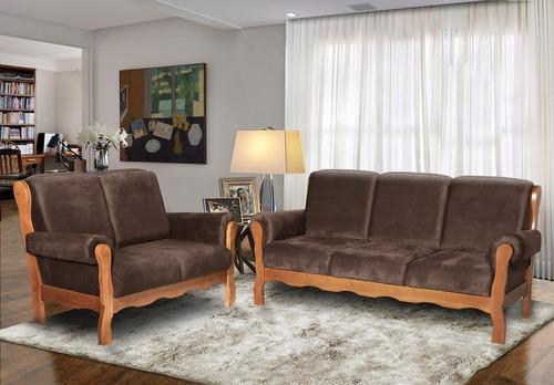 estofado / sofá classic 3 e 2 lugares