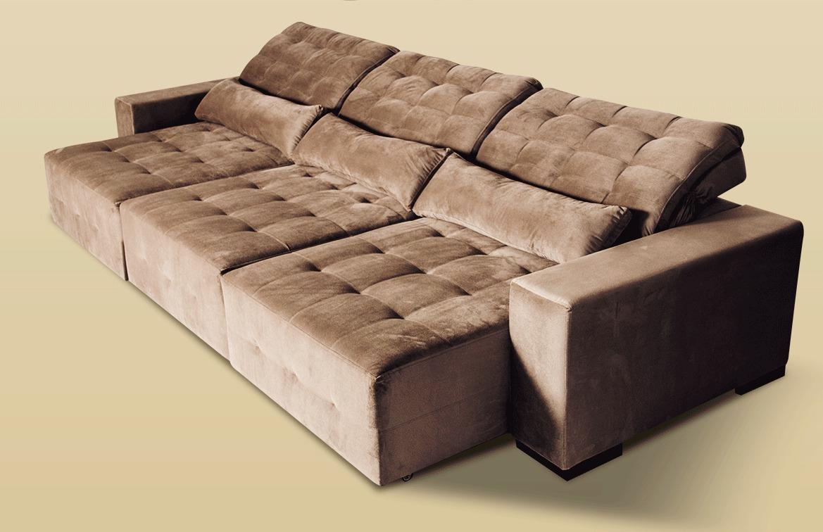 Estofado sofia home star retr til reclin vel 2 5 metros - Medidas de sofas 3 2 ...