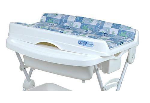 estofamento original p/ banheira splash burigotto azul 3043