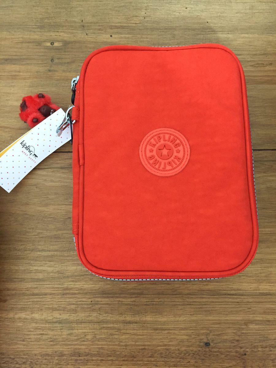 d38b41bd3 Estojo 100 Pen Case Kipling Coral - R$ 198,00 em Mercado Livre