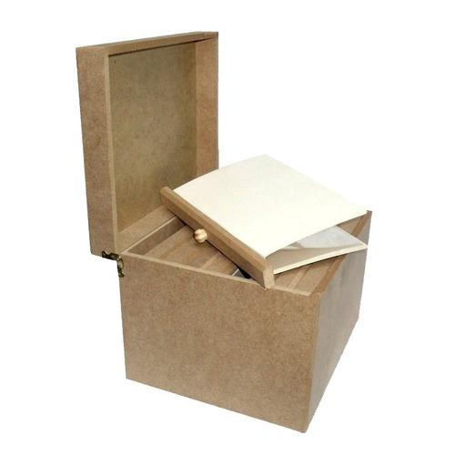 estojo caixa para 320 fotos porta albuns