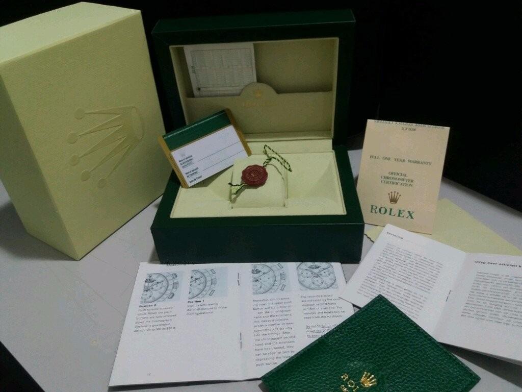 6548a82b142 estojo caixa relogios rolex original medalha manual card 01. Carregando zoom .