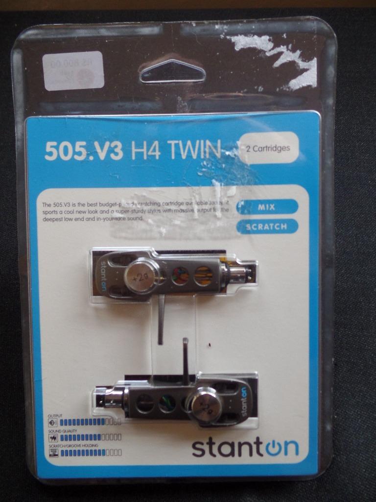 Estojo Cápsula Stanton - 505 v3 H4 Twin - Importado