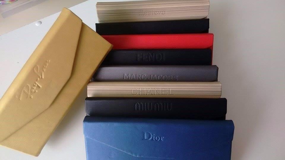 0c47c6b6d71b9 Estojo Case P  Oculos - Diversos Modelos - Flanela De Brinde - R  16 ...