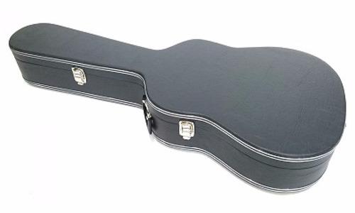 estojo case para violão folk 12 cordas luxo
