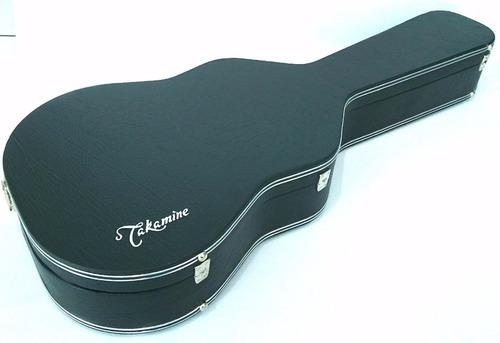 estojo case para violão folk bordado takamine