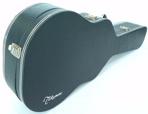 estojo case para violão folk luxo bordado takamine