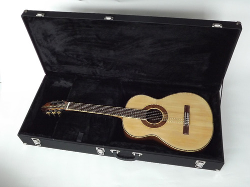 estojo case para violão folk standard pronta entrega