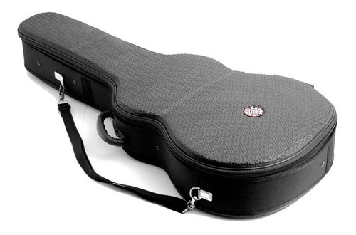 estojo case solid sound abs violão