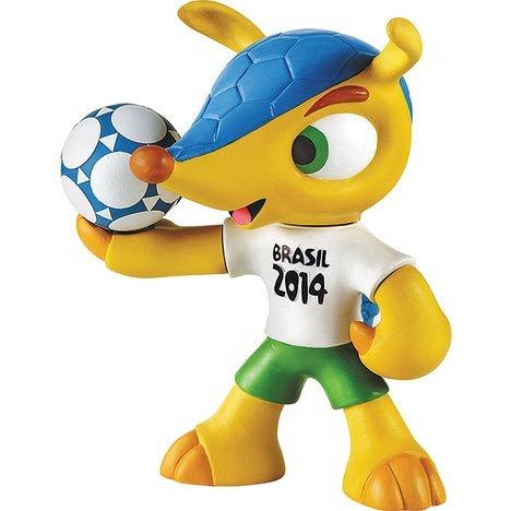 estojo da copa do mundo brasil fuleco sestini - 62856