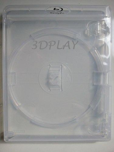 estojo de playstation 3 original nacional - transparente ps3