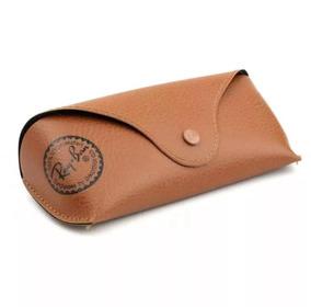 4009f2e50 Estojo Ray Ban Original Couro - Óculos no Mercado Livre Brasil