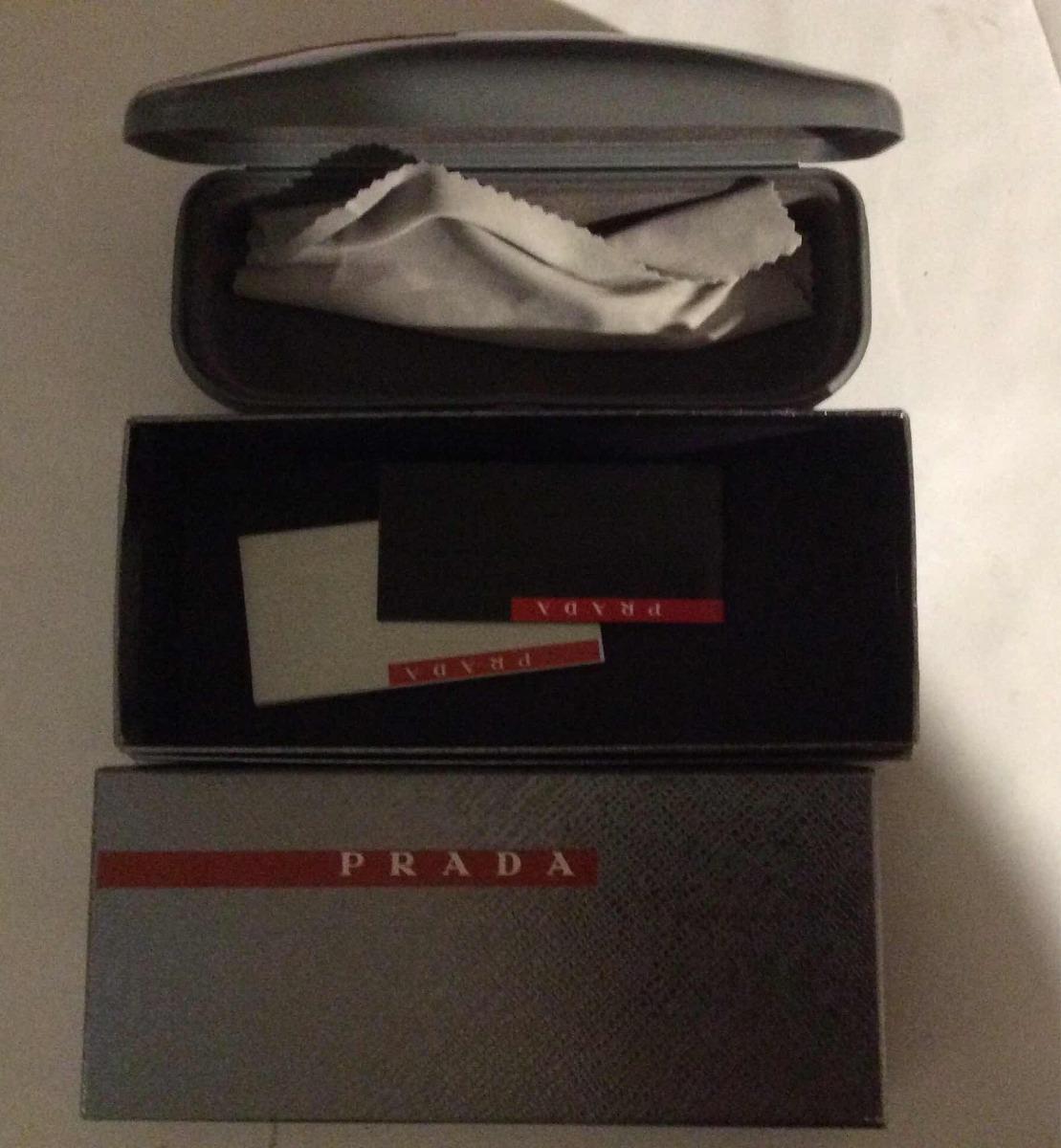 b6a4a251aa2c7 Estojo E Caixa De Oculos Prada Com Certificados E Flanela. - R  100 ...