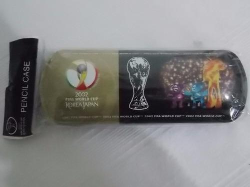 estojo escolar oficial da copa do mundo de 2002 korea/japao