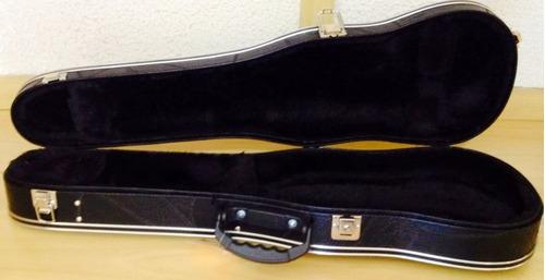 estojo fama tradicional formato violino 3/4 preto
