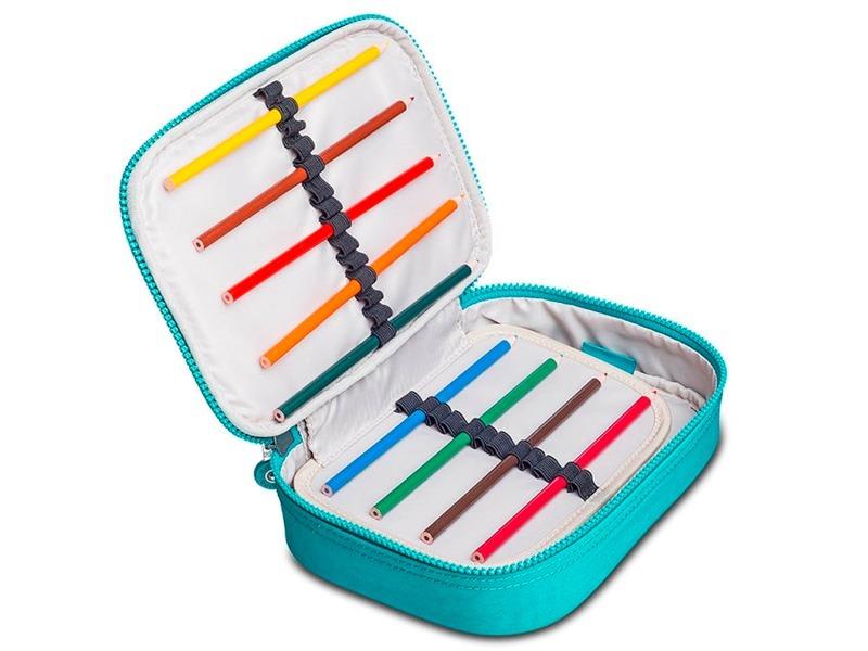 70be48fbe Estojo Kipling Original 100 Pens 0940508x Loja Pixolé - R$ 299,00 em ...