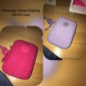 119a5eda7 Estojo Parecido Kipling Usado E Muito Barato Usado no Mercado Livre Brasil