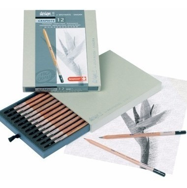 estojo lápis desenho graduado+ bl.desenho canson croquis 90g