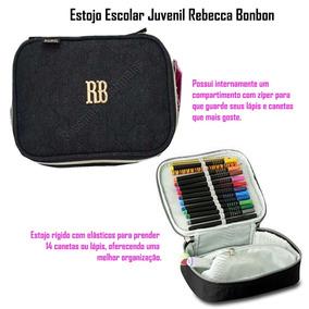 729c06e15 Estojo Com Elastico Para Lapis Rosa - Estojos no Mercado Livre Brasil
