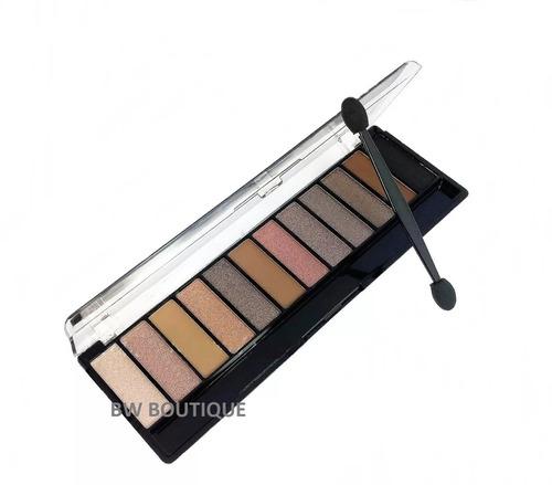 estojo maquiagem completo kit 12 sombras 3d - frete grátis