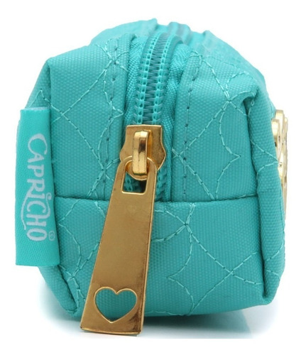 estojo necessarie capricho love green 11352 original