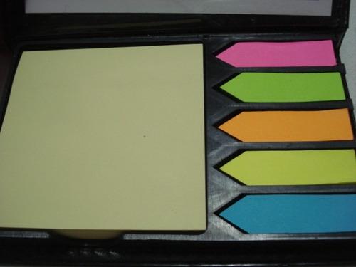 estojo organizador adesivo couro lembrete mensagens recados