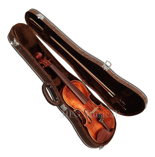 estojo para viola de arco leilo cases madeira marrom 42