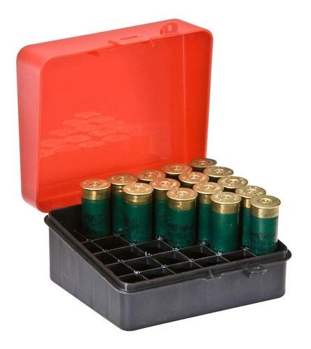 estojo plano municao 1216-01 gun guard p/ 25 projeteis