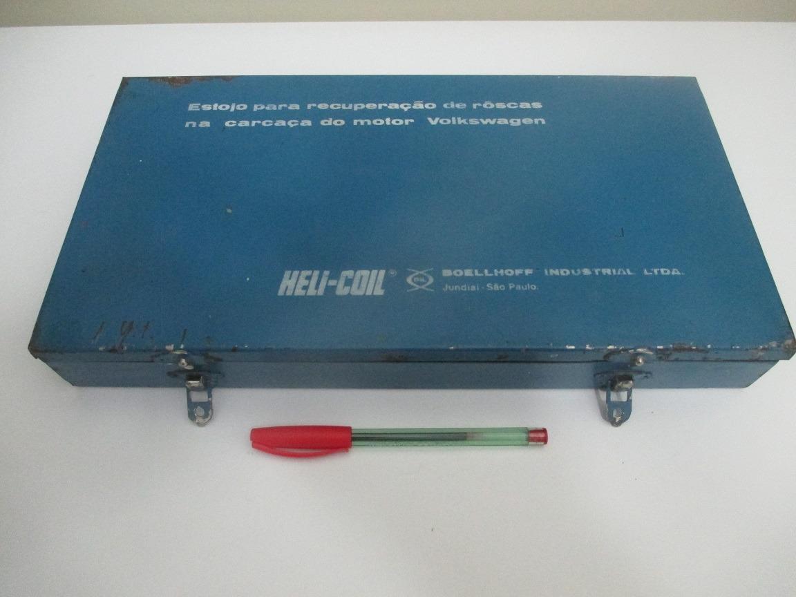 Estojo Recuperação De Rosca P/ Motor Vw Heli-coil Boellhoff
