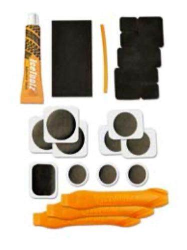 estojo remendo ice toolz kit reparo pneu espatula bike mtb
