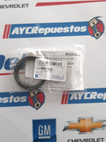 estopera cigüeñal delantera trailblazer 05-09 colorado todas