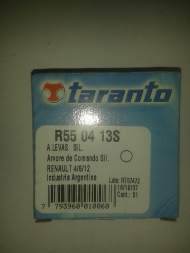 estopera de leva renault 5/12 marca taranto (30x42x8)