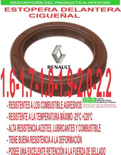 estopera delantera cigueñal renault 19-21 1.7-2.0-2.2 «* ê