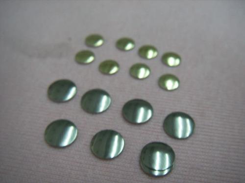 estoperol plano planchable color oro plata