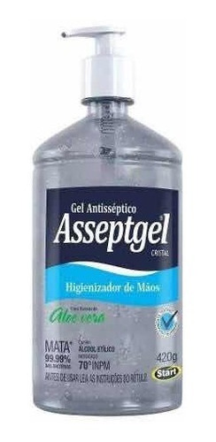 estou doando álcool em gel