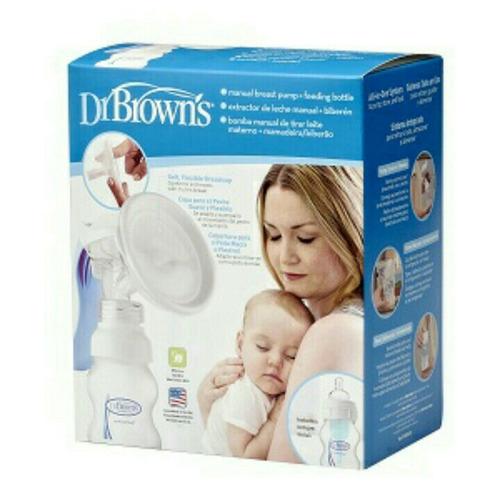 estractor de leche materna manual dr brown's original