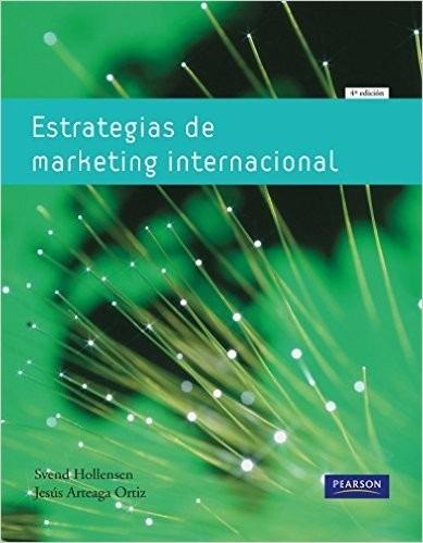 estrategias de marketing internacional autor hollensen