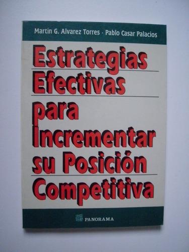 estrategias efectivas para incrementar posición competitiva