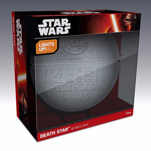 estrela da morte death star - star wars luminaria 3d