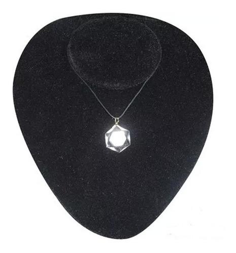 estrela de david em cristal de rocha quartzo hialino