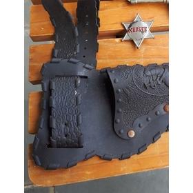 Estrela Sheriff E Coldre Faroeste Far West Estrela