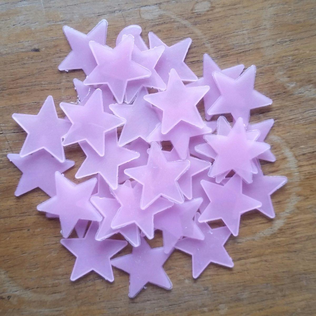 Armario Segunda Mano Mallorca ~ Estrela Teto Parede Fluorescente Adesiva Brilha Escuro Rosa R$ 15,00 em Mercado Livre