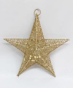 Estrellas De Navidad Para Decorar.Estrellas De Alambre Para Decorar Adornos Para Arbol