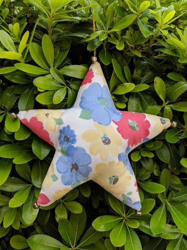 estrella colgante movil adorno cascabel varios modelos