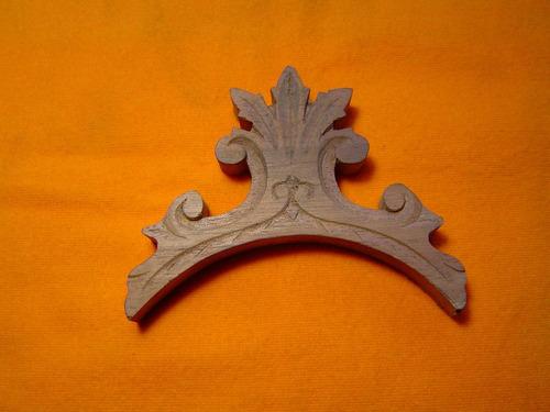 estrella copete de madera para teléfonos antiguos ericsson